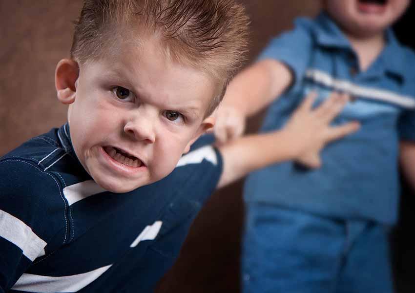 child aggressive