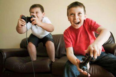 video game-addicted children